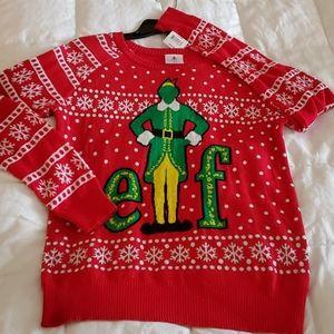 NWT Christmas Elf Ugly Sweater Medium M